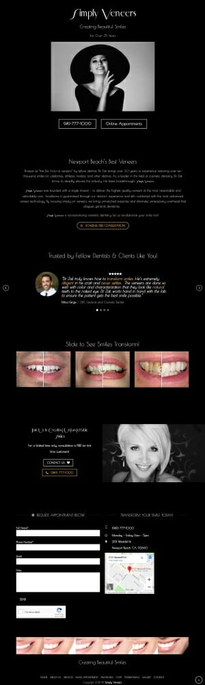 High-Value-Dental-Marketing-Landing-Page