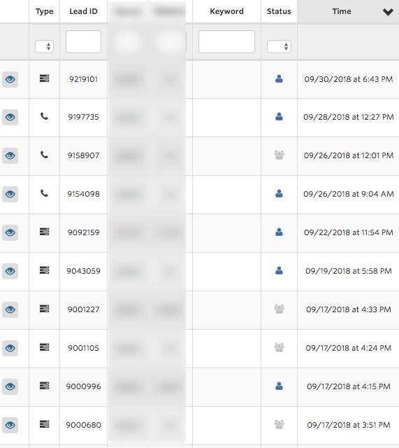 veneers booking lead screenshot