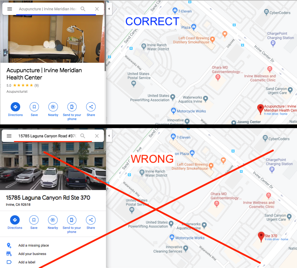 Correct vs. Wrong Way to Embed Google Maps My Business