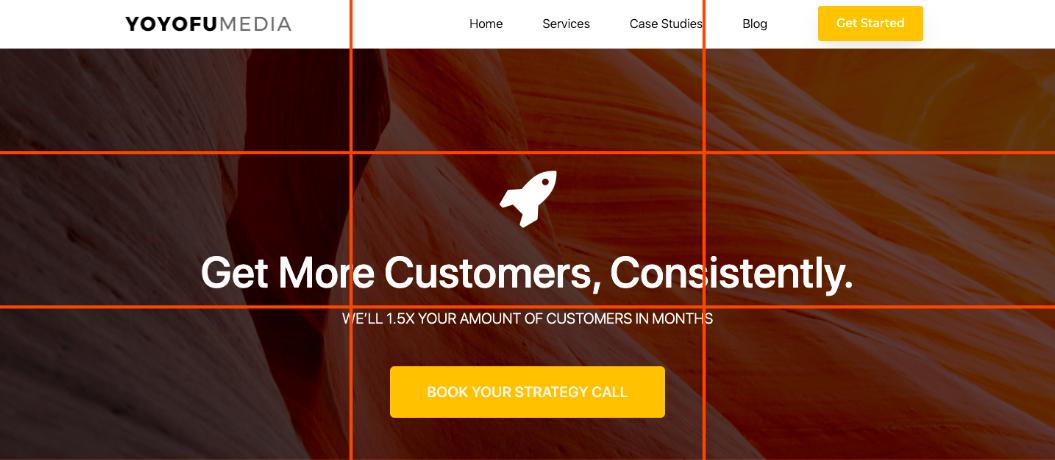 YoYoFuMedia Website Design 3x3 Grid