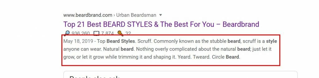 beardbrand meta description