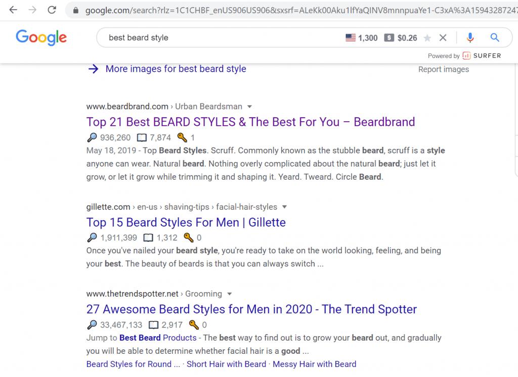 best beard style google search results