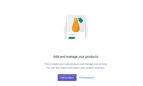 Adding Shopify Products