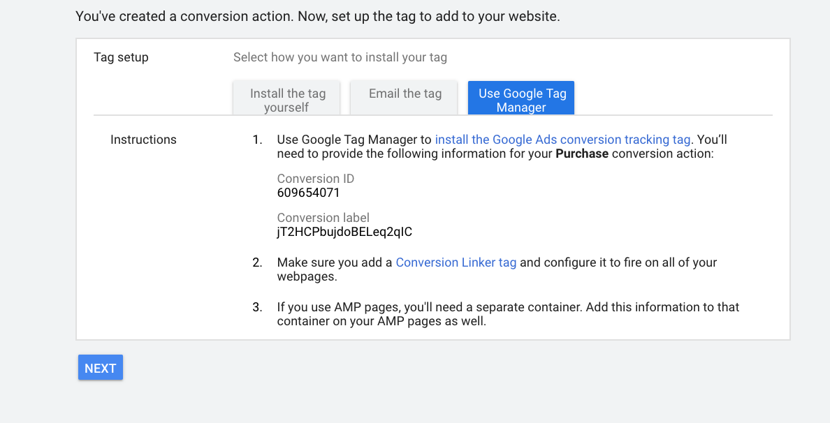 Adding Tag using Google Tag Manager