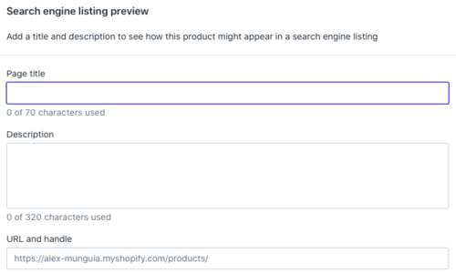 search engine listing preview for seo