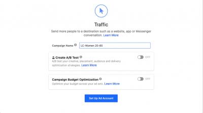 Link Clicks Facebook Ad Example