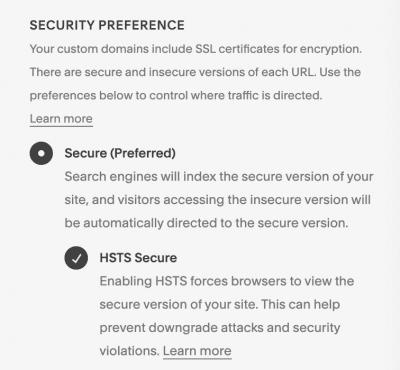 Squarespace SEO SSL