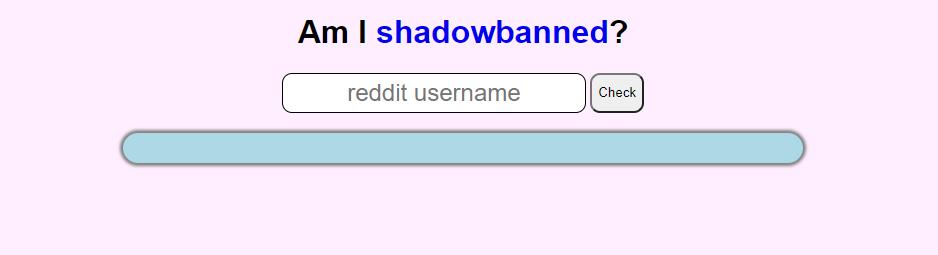 reddit shadow ban test tool