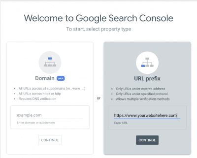 Google Search Console Wix Setup