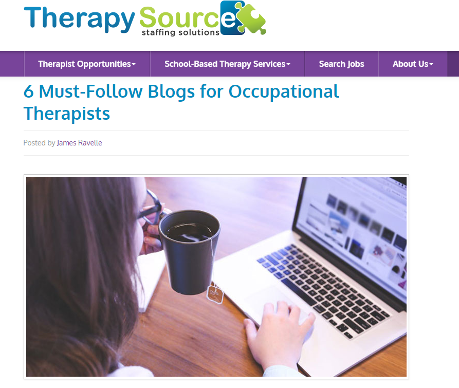 Blogs for occupational therapists