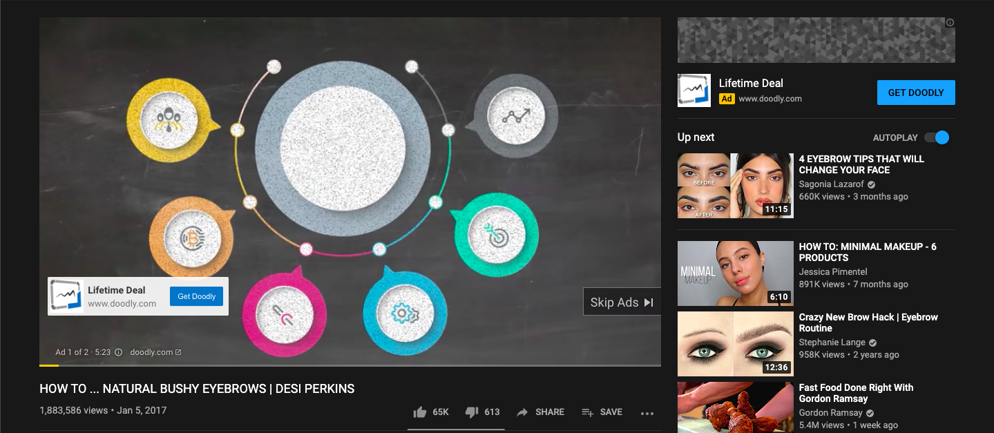 Video Ad Example