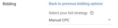 Google Ads Manual CPC