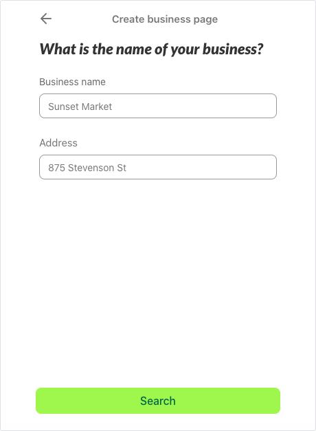 Nextdoor for business account setup