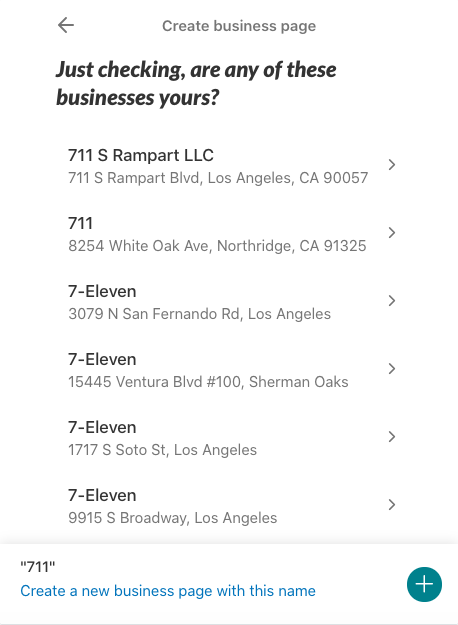 Nextdoor for business - business claim verification