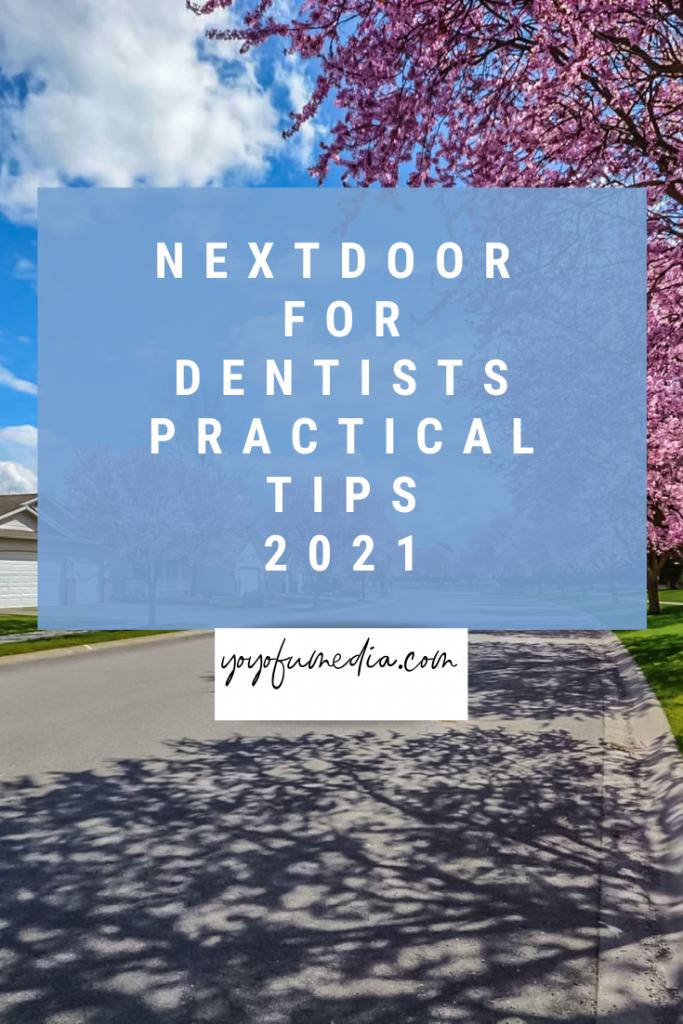 Nextdoor for Dentists