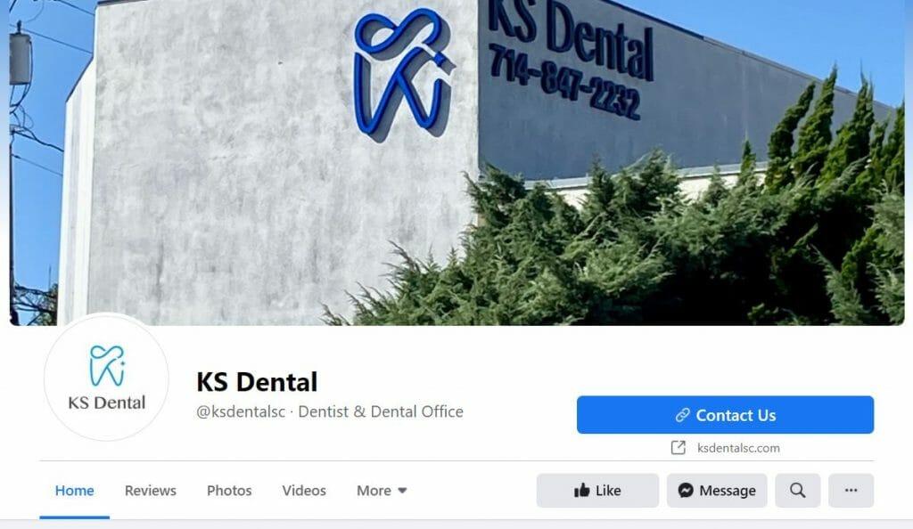 dental facebook page