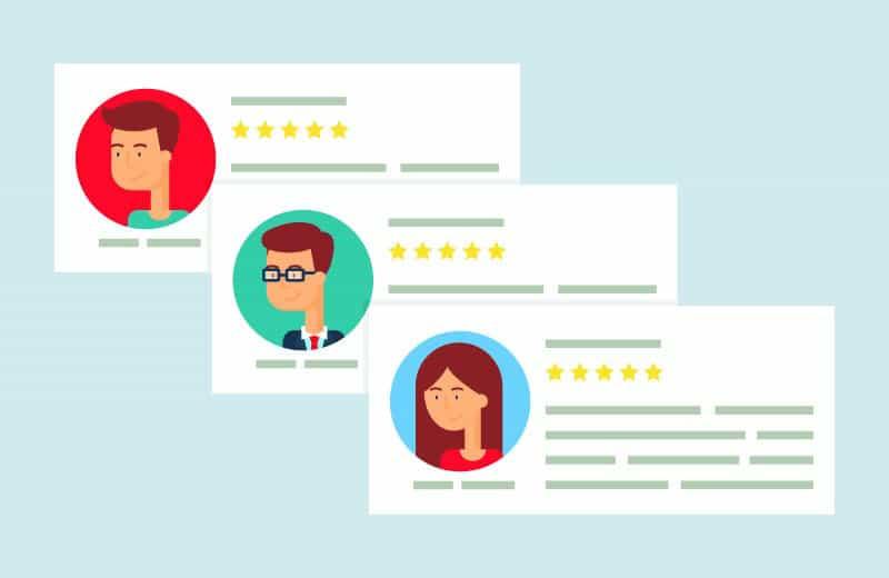 social media for dentist customer reviews