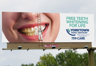 Creative Dental Billboard