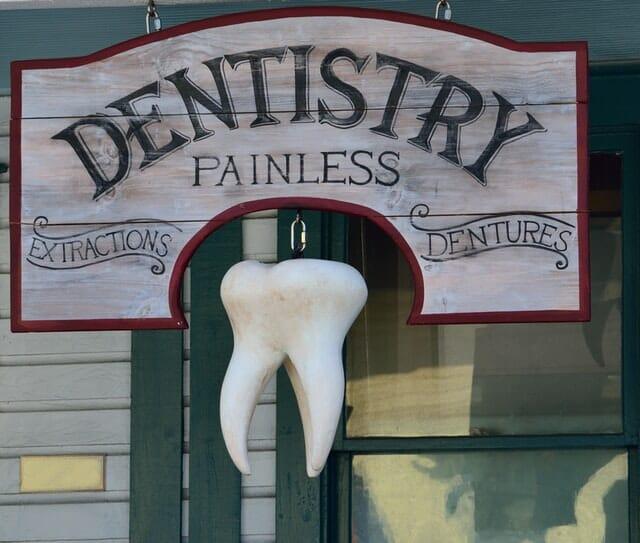Dentist Writing