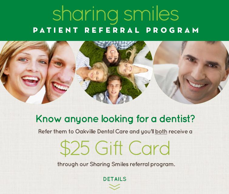 dentist attract patient referral program