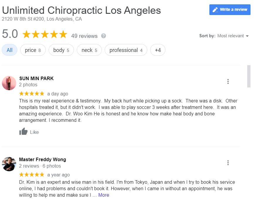 growing your chiropractic practice customer reviews