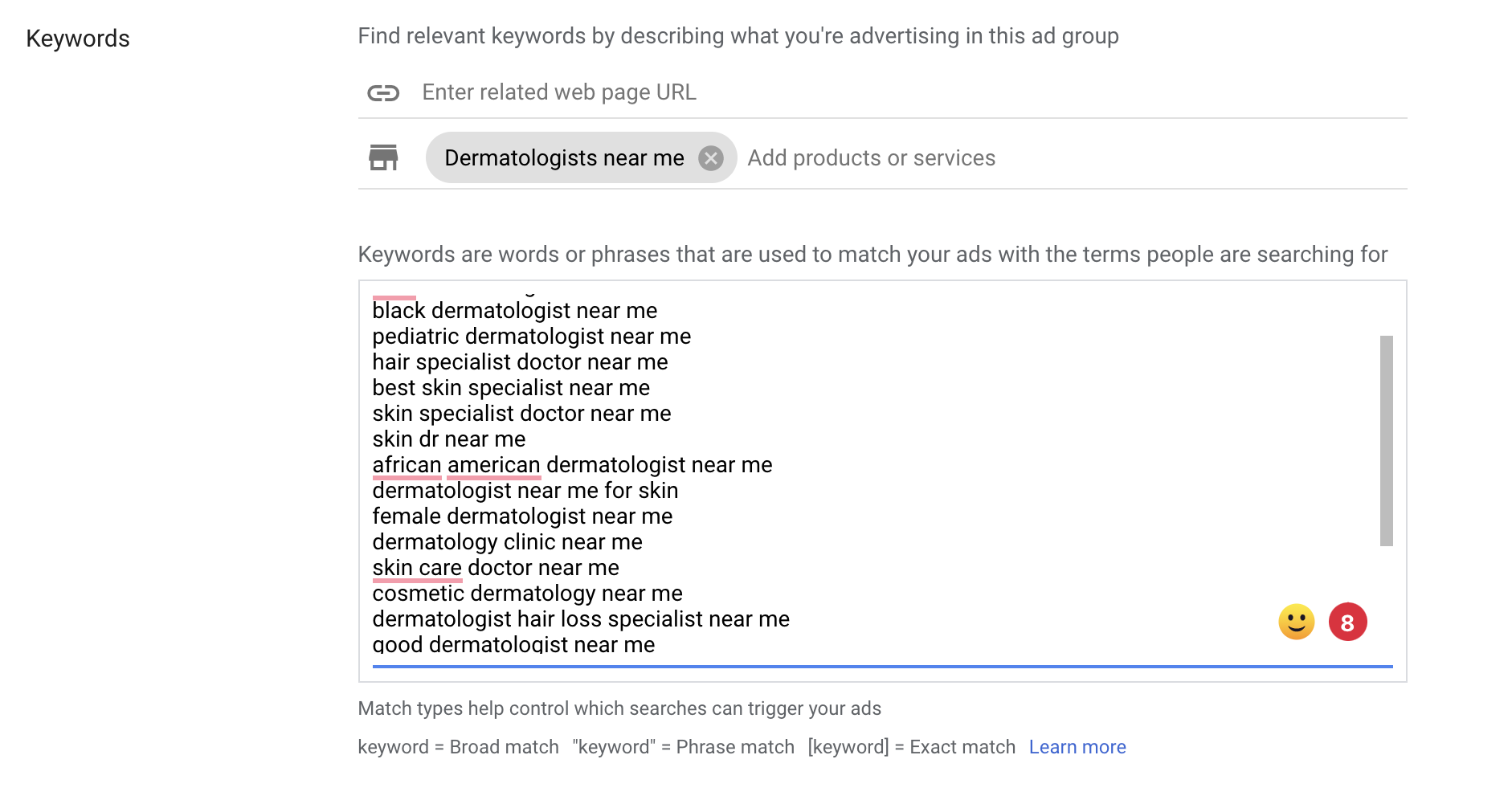 17 Getting your keywords